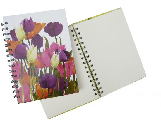 Journal, Tulips image