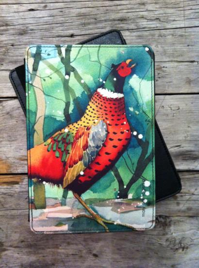 Kindle case, Pheasant image