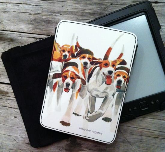 Kindle case, Hounds image