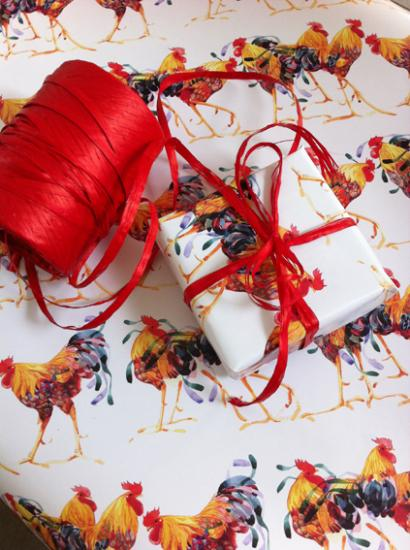 Gift Wrap, COCKERELS image
