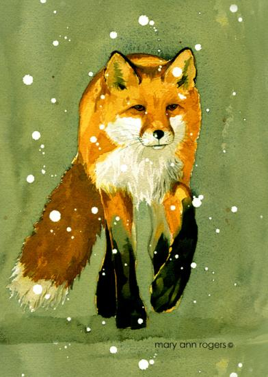 Kindle case, Fox image