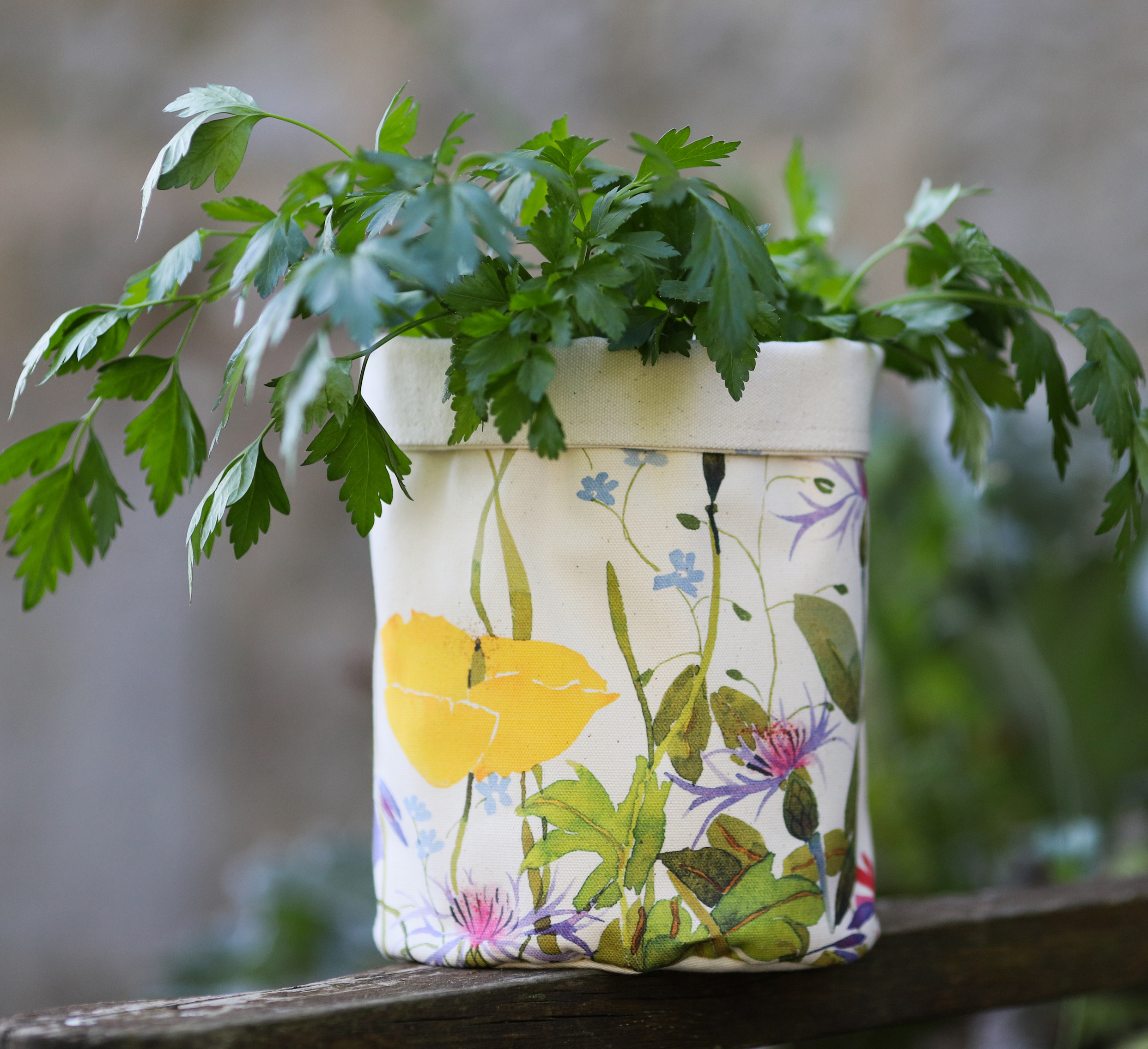 Pot Bag,  Spring Flowers image