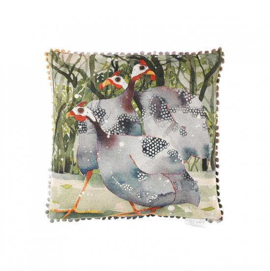 Cushion,  Guinea Fowl image