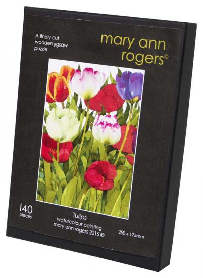 Jigsaw puzzle, 'Tulips' image