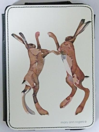 Kindle case Boxing Hares, sorry out of stock image