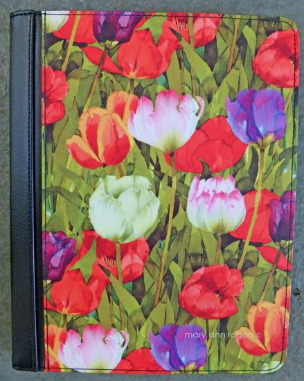 Kindle case, Spring Tulips image