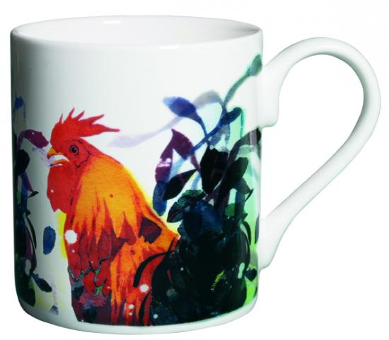 Mug, Three Cockerels image