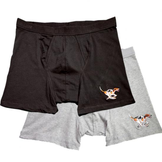 Mens Trunks with Hound Motif image