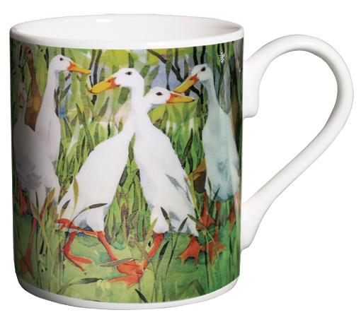 Mug, Indian Runner Ducks image