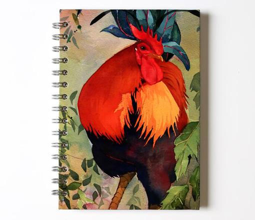 Journal, Cockerel image