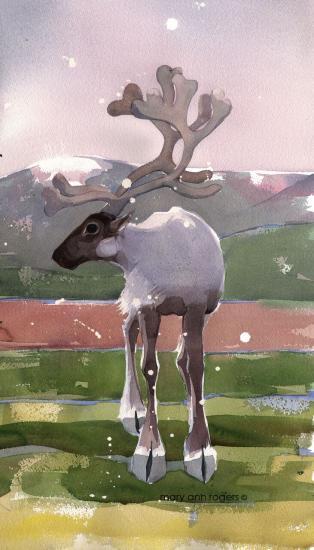 iPhone Case Reindeer image