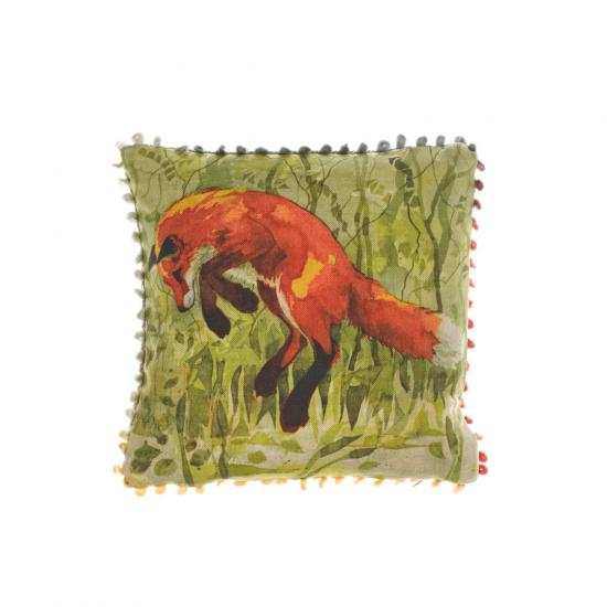 Mini cushion, Jumping Fox image
