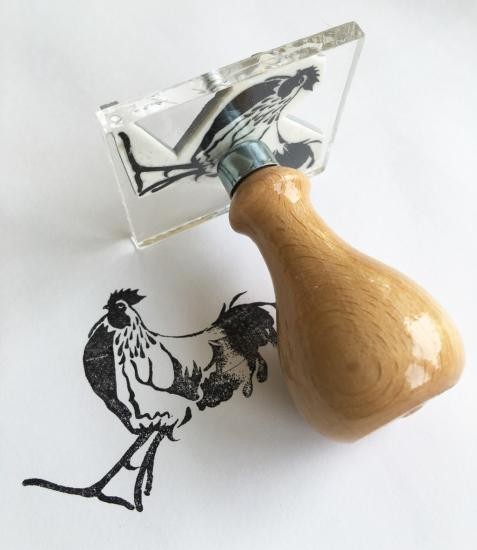 Stamp-cockerel image