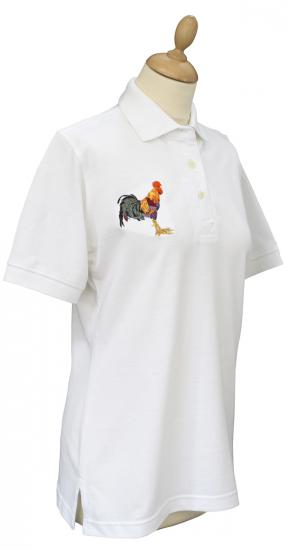 Polo Shirt, Cockerel/Hound Motif image
