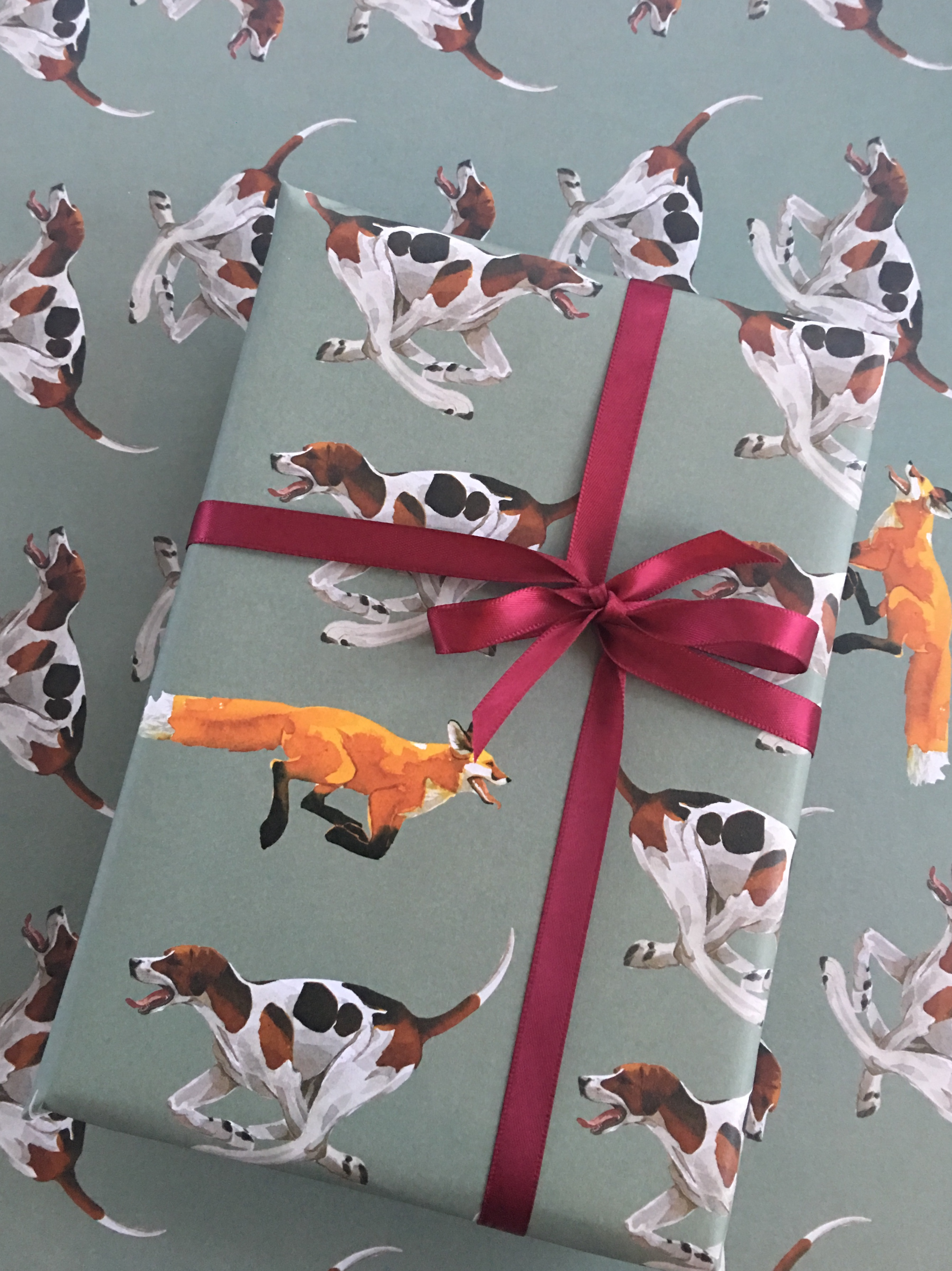 Gift Wrap, HOUNDS NEW! sorry, out of stock image