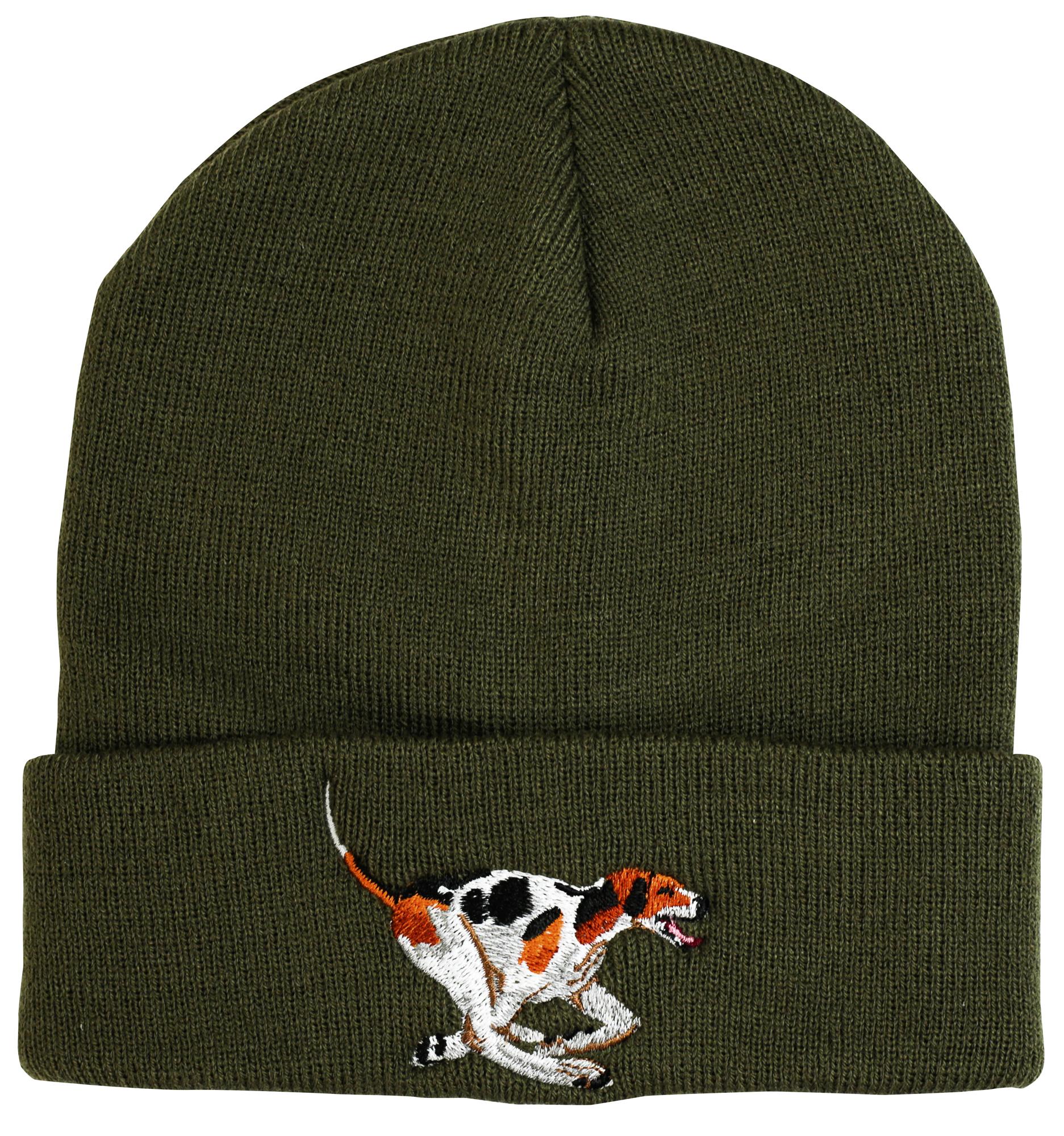 Beanie Hat - hound motif image