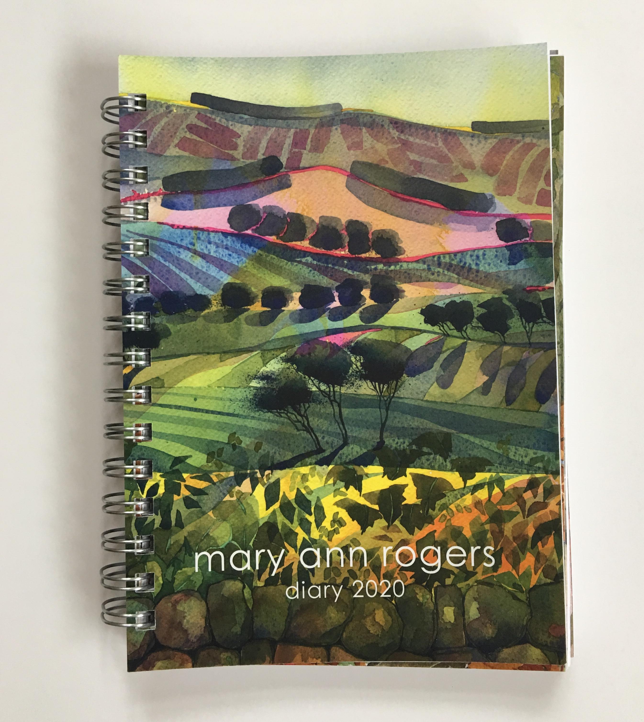 Diary 2020, Ridge & Furrow image