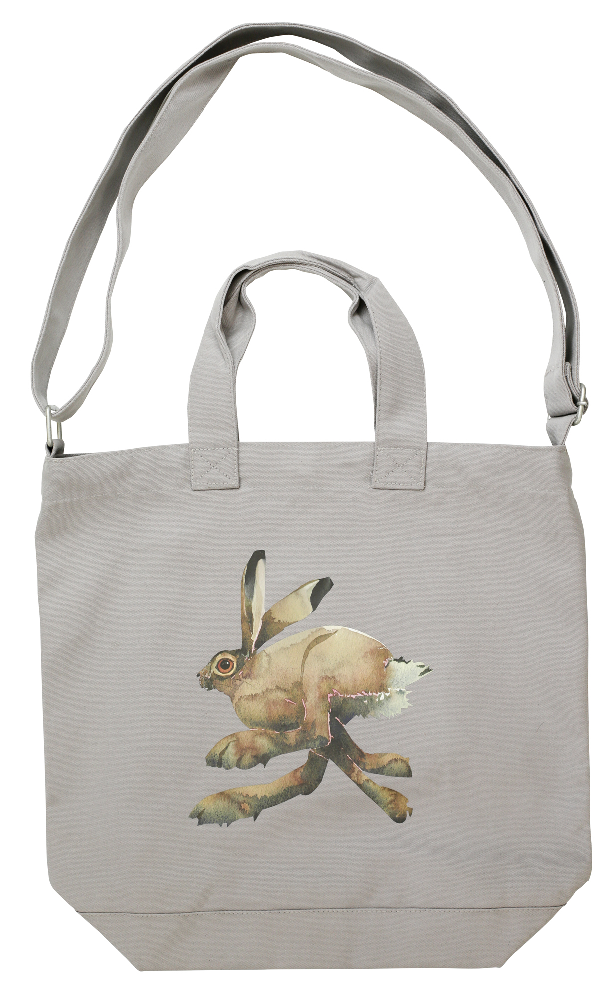 Canvas Day Bag- Hare image