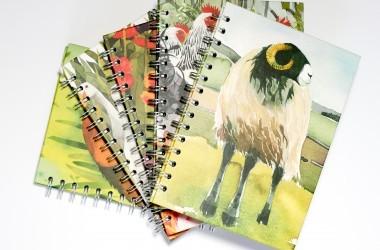 Journals and Sketchbooks art