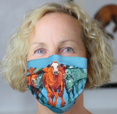 Face Mask Fat Cattle  image