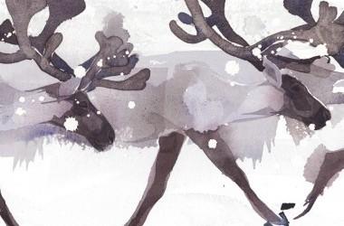 Christmas/Snow art