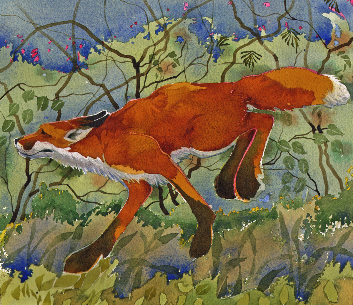 Running Reynard, SOLD image