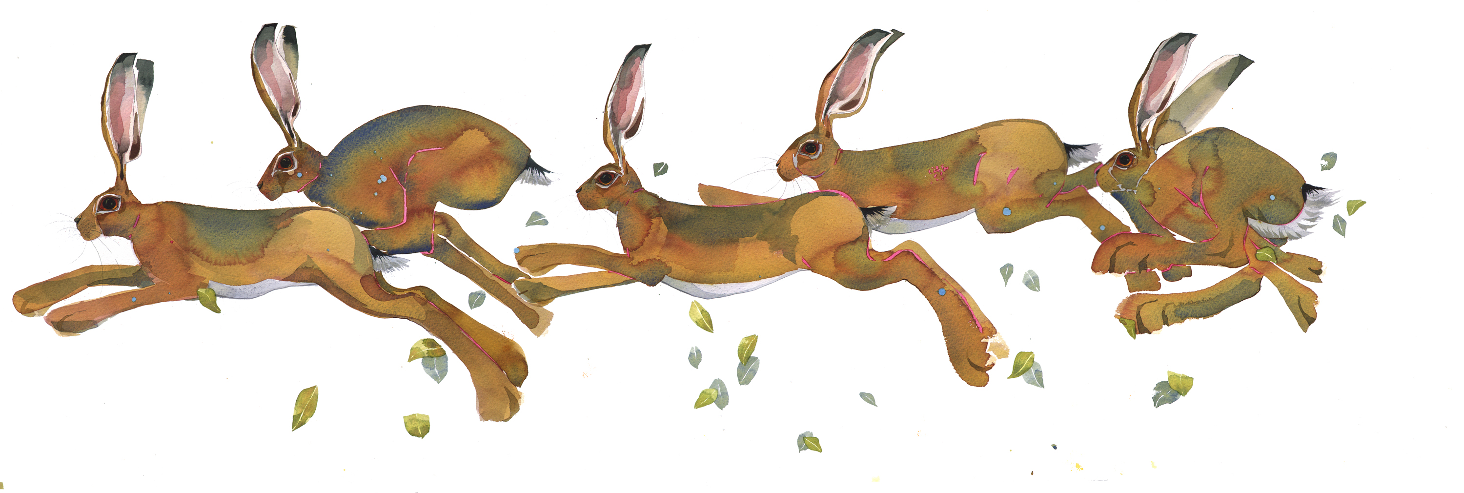 Mad March Hares SOLD image