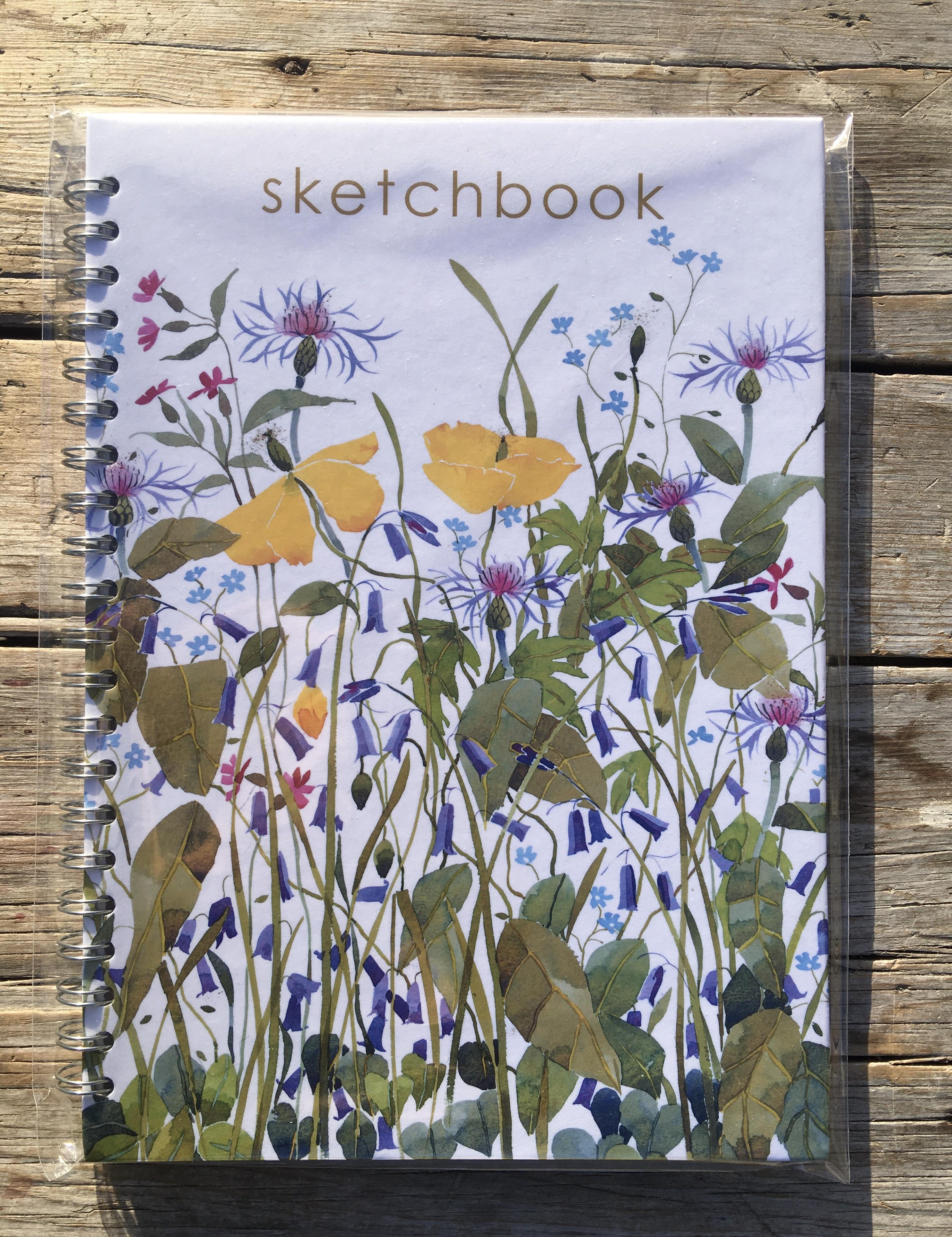Sketchbook, Spring Flowers image