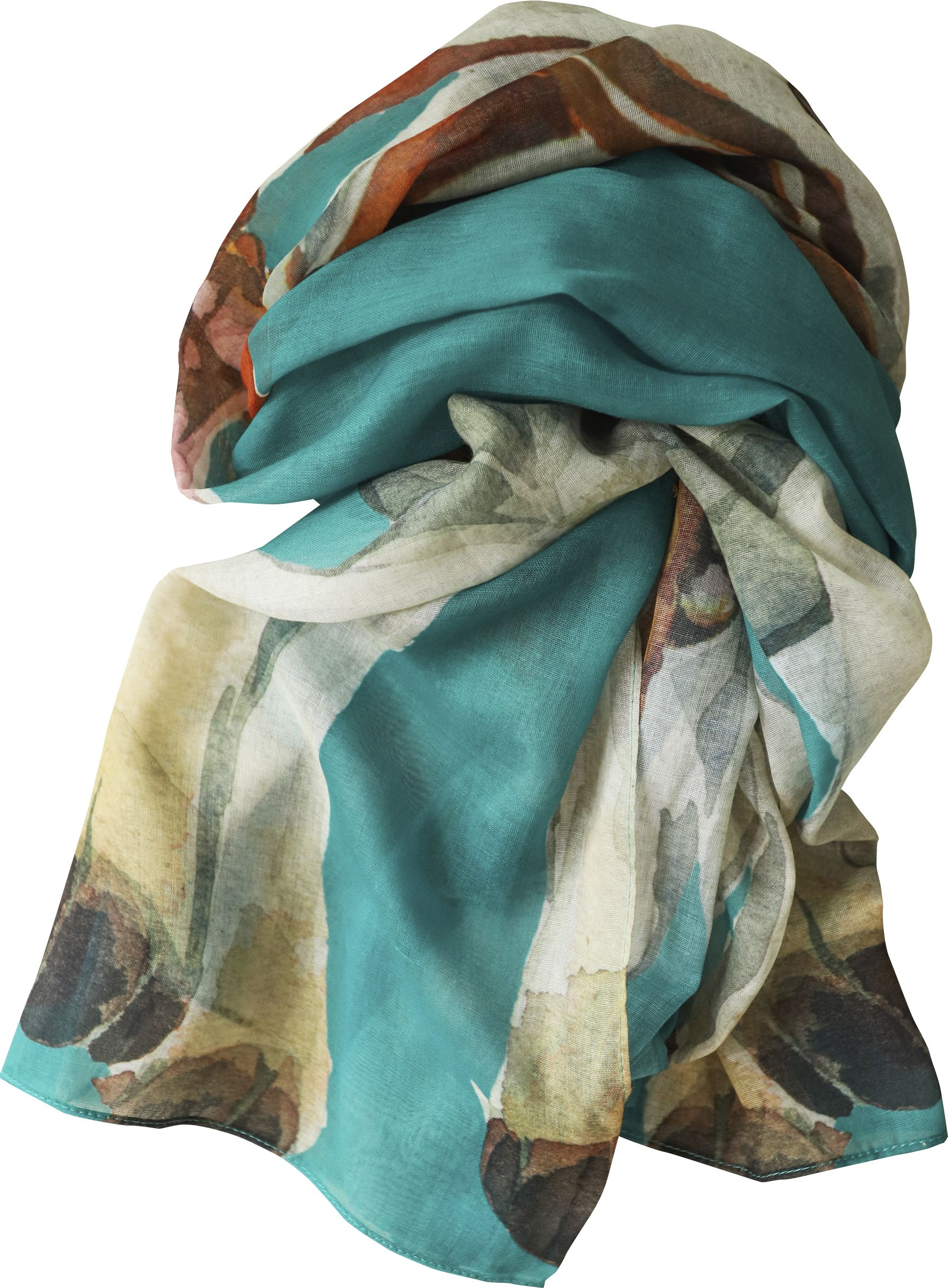 Casual Scarf, Hound Teal NEW! image
