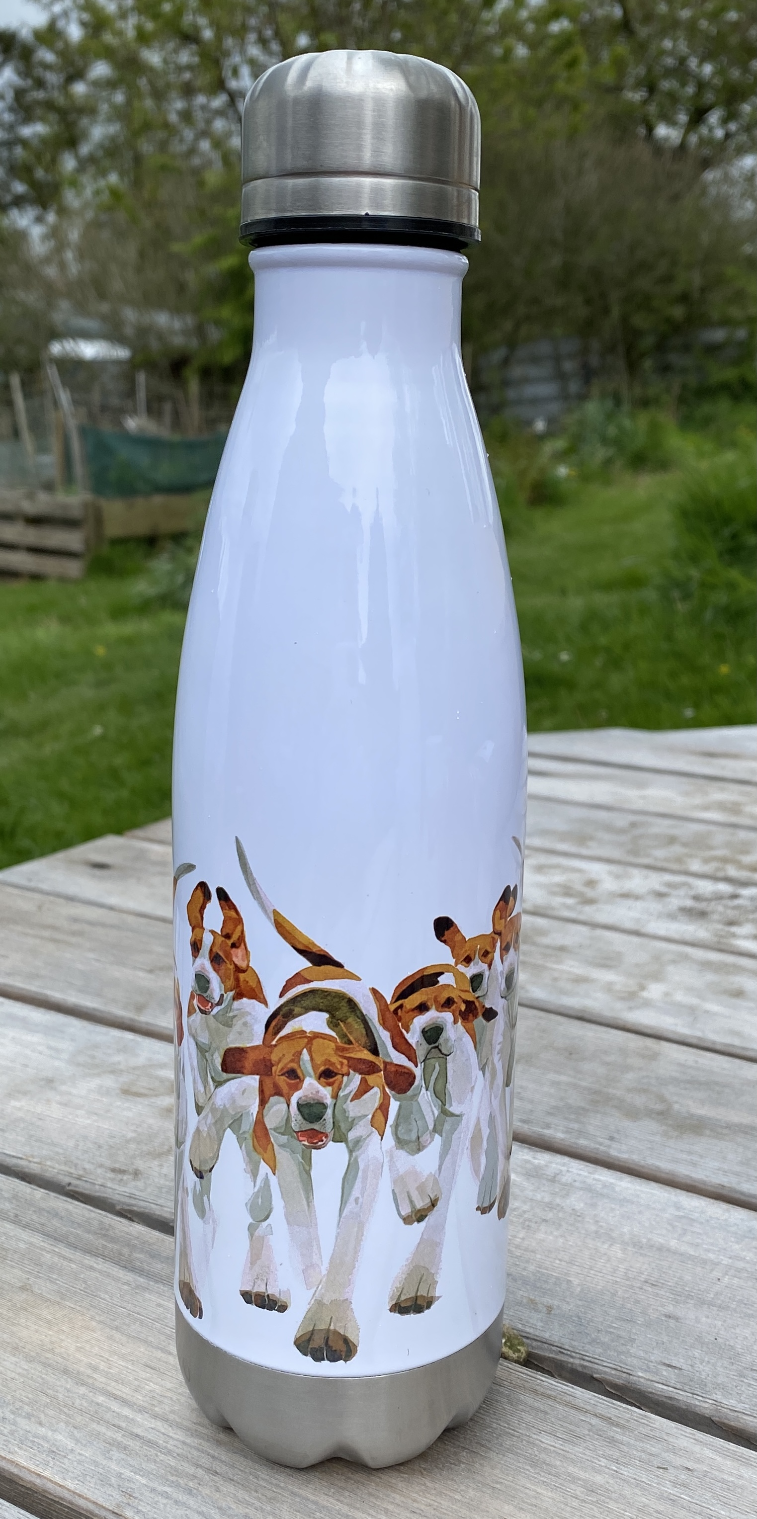 Stainless Steel Drinking Bottle - Hounds image