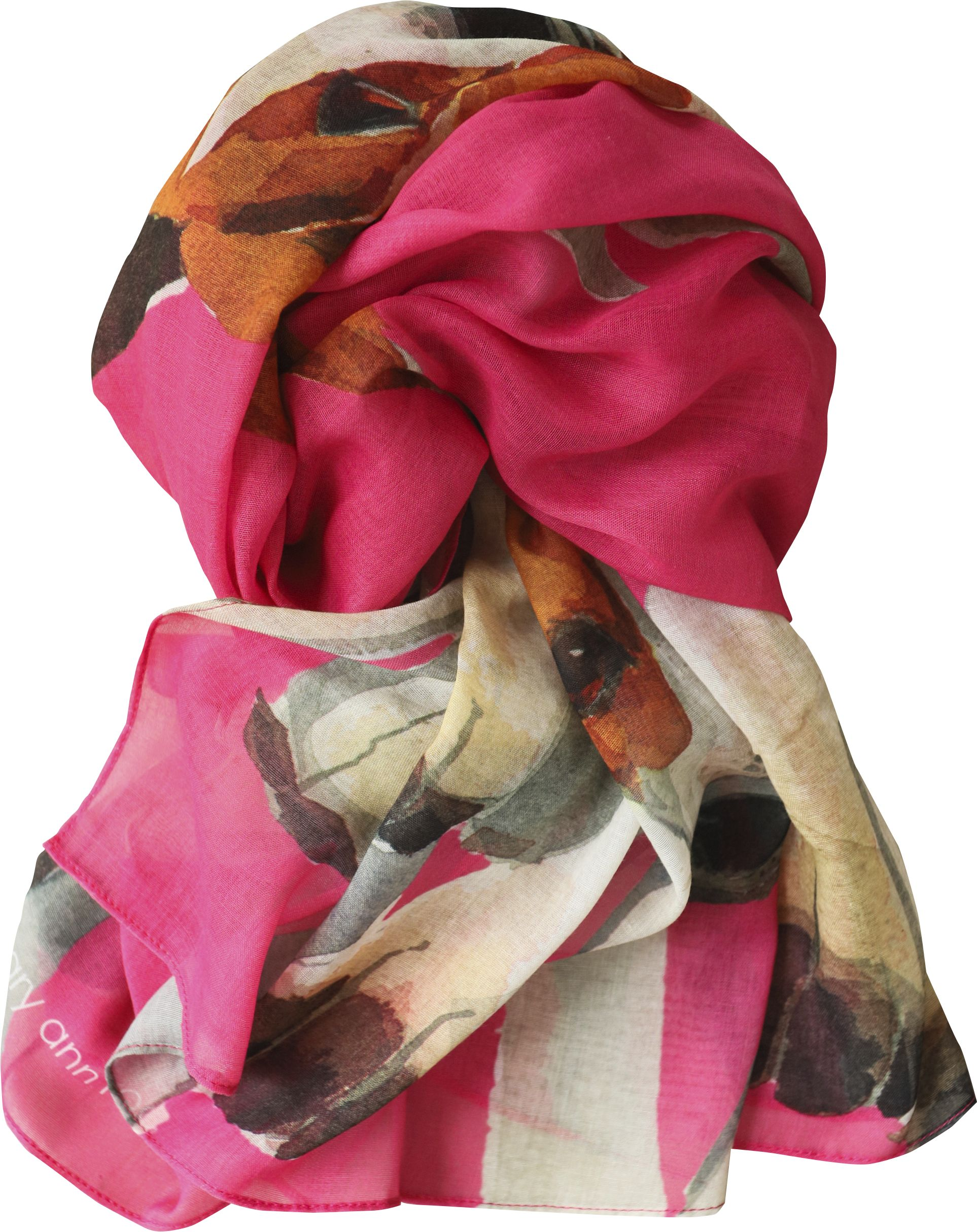 Casual Scarf, Hound Pink NEW! image