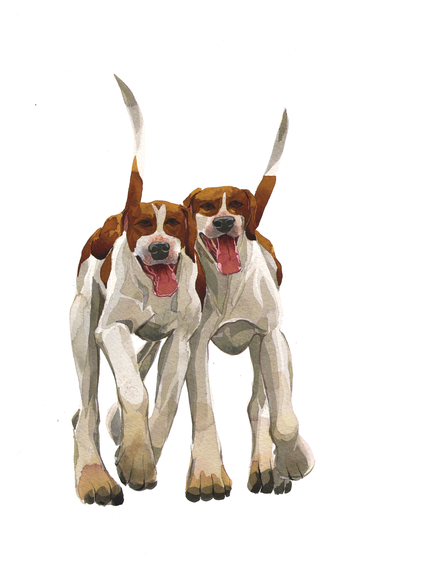 Hound Couple SOLD image