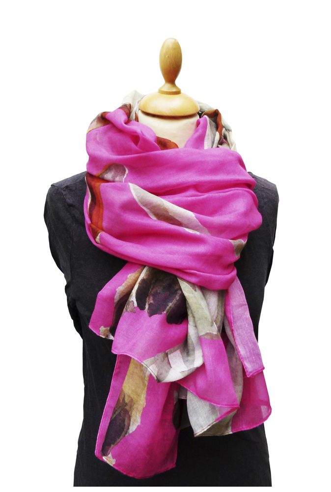 Casual Scarf, Hound Pink image