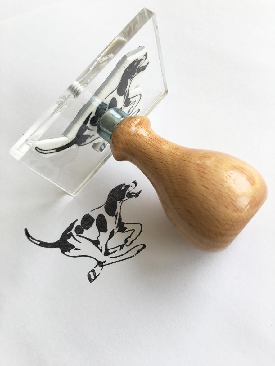 Stamper - hound image