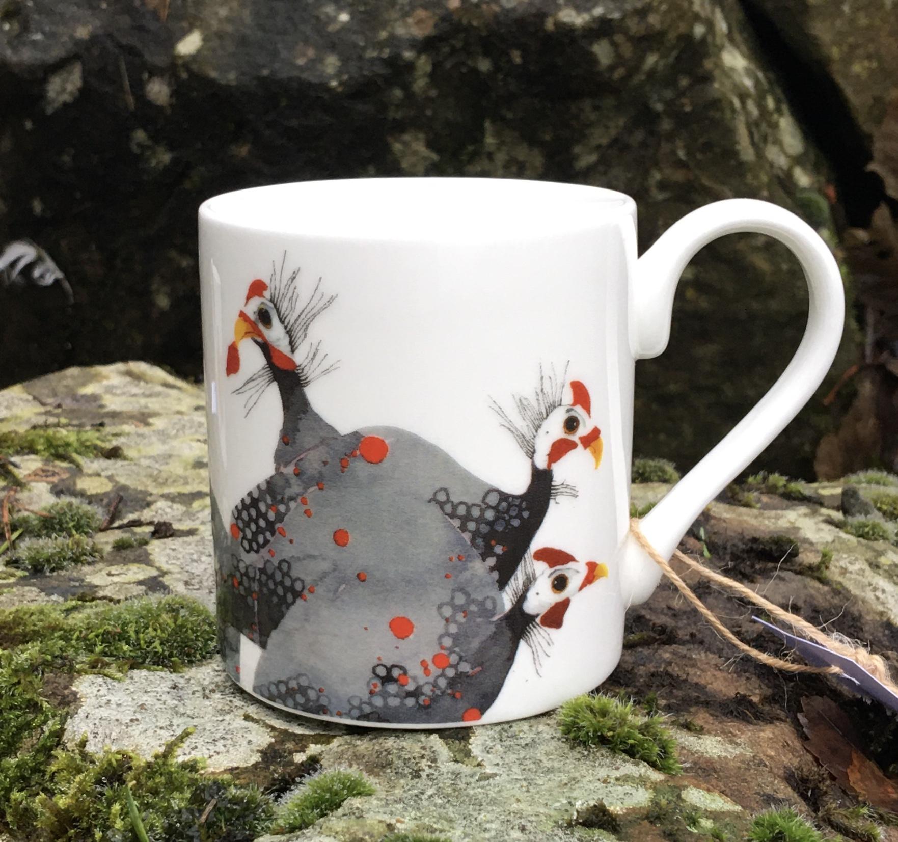 Mug, Guinea Fowl image
