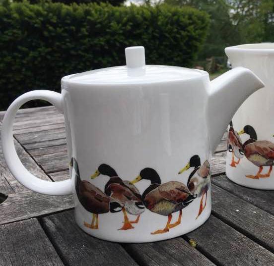 Teapot, Mallard Drakes image