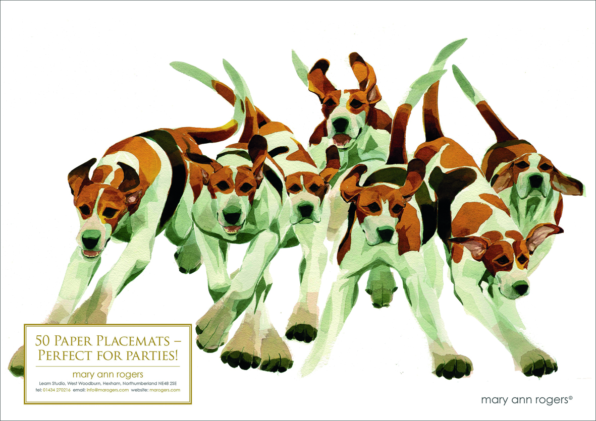 Paper Placemats, Hounds image