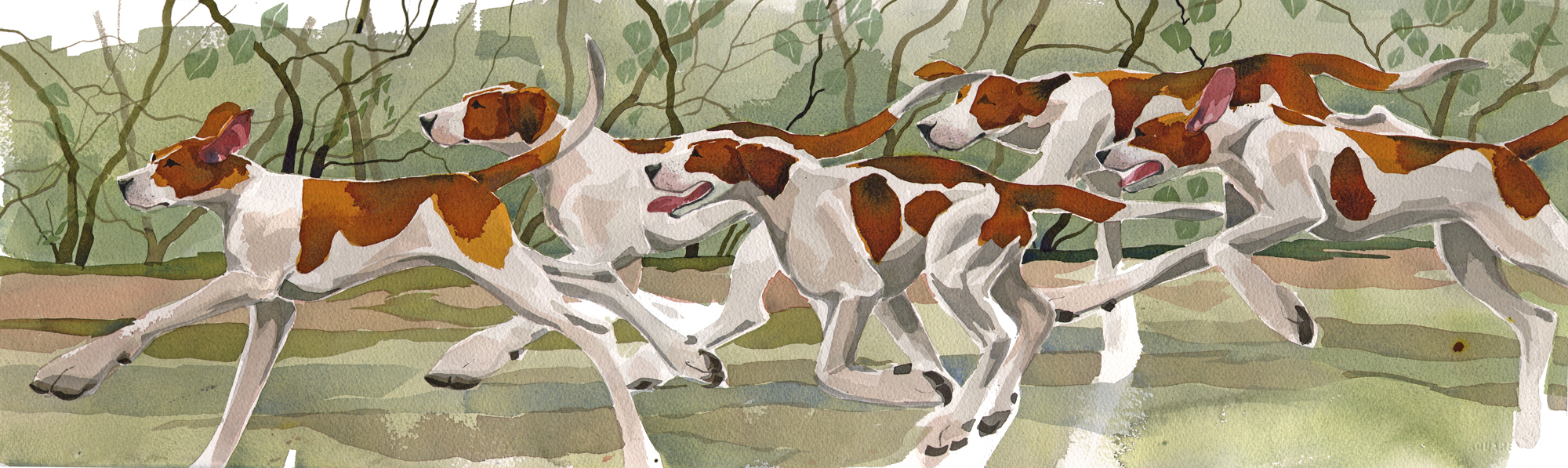 Running Hounds image
