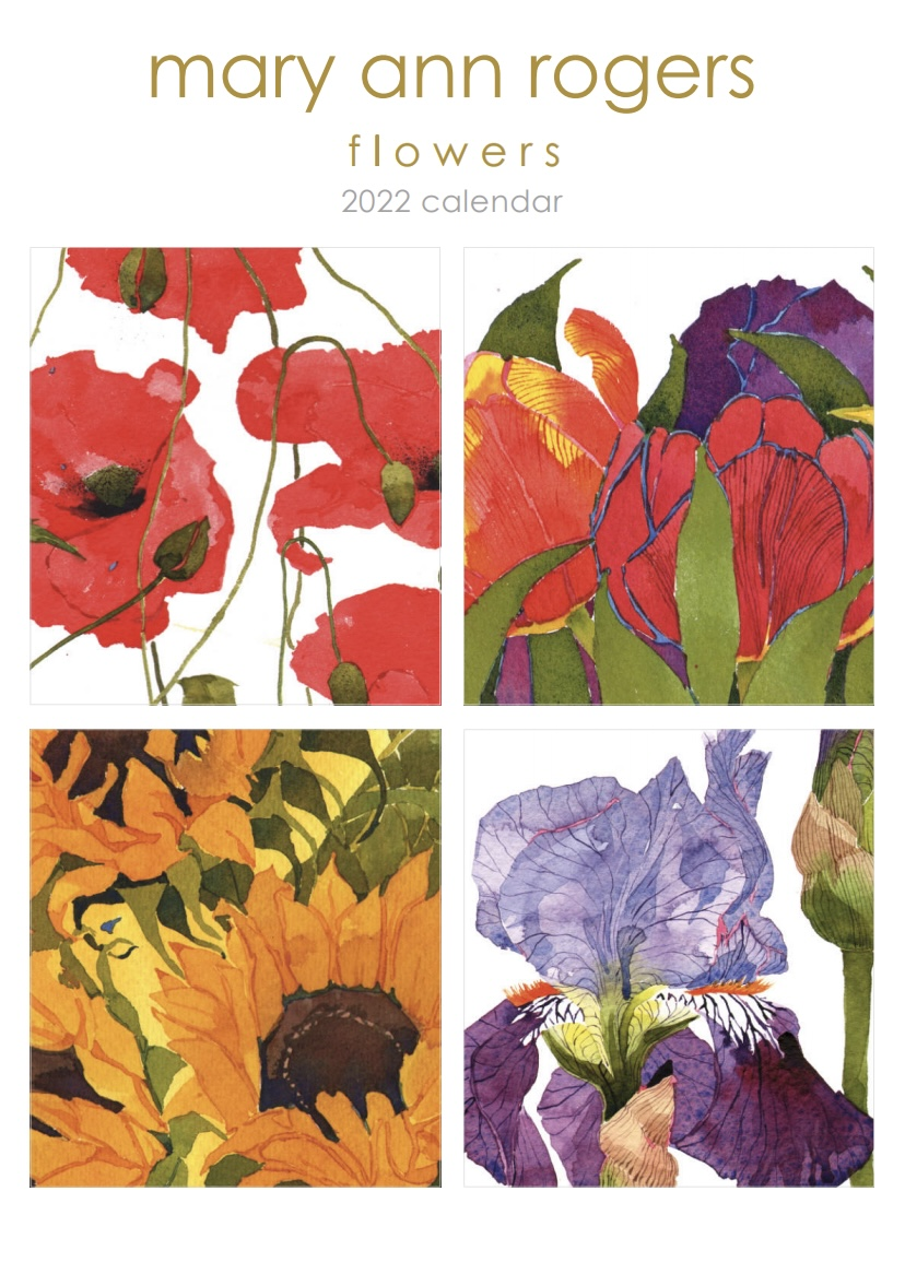 Calendar 2022 Flowers  NEW! image