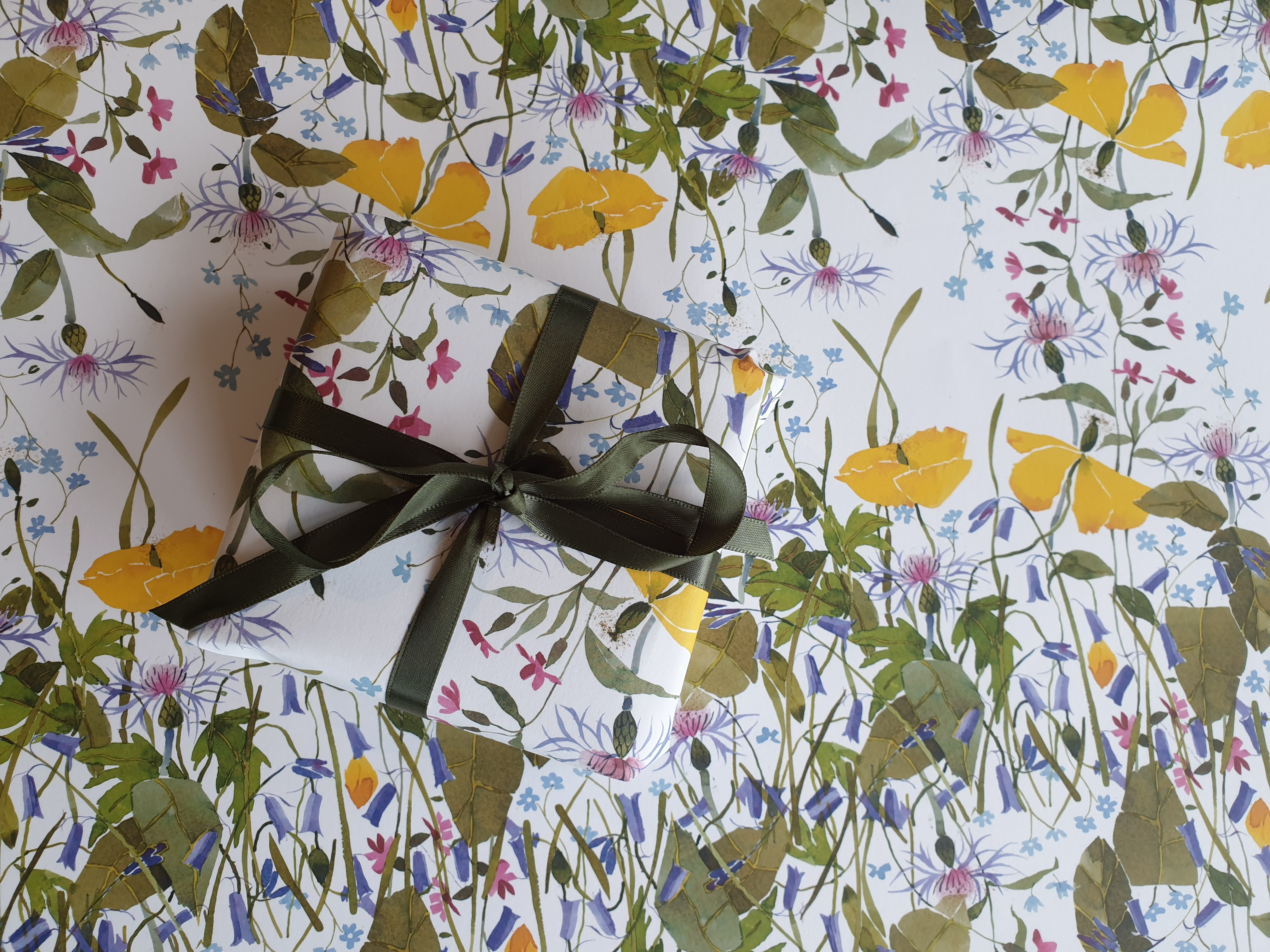 Gift Wrap, Spring Flowers New! image