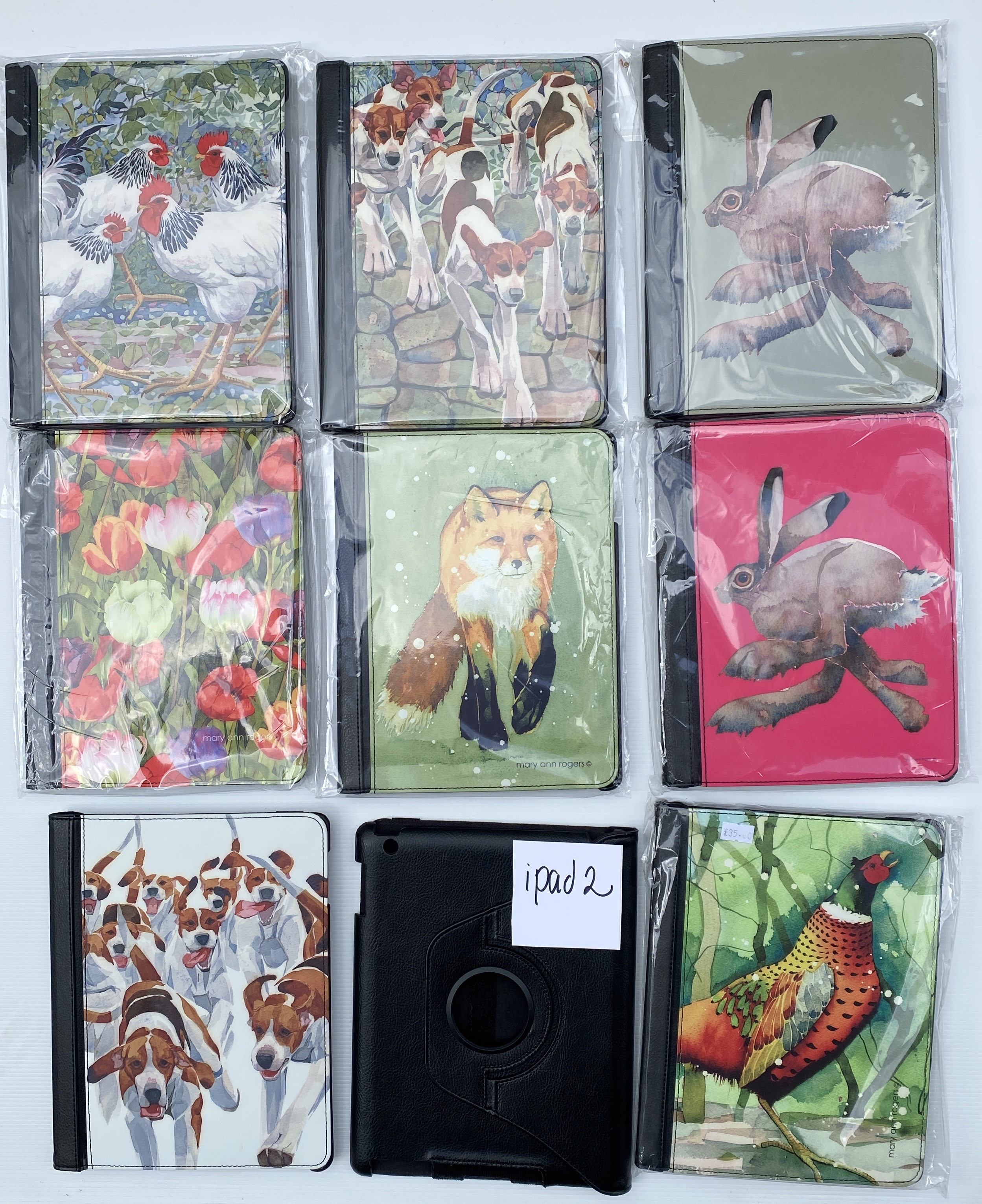APPLE iPad 2 cases BARGAIN!!! were £40, now just £20 image